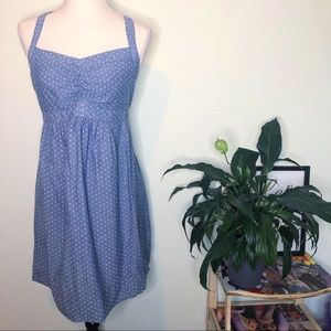 Motherhood Maternity Chambray Dress S